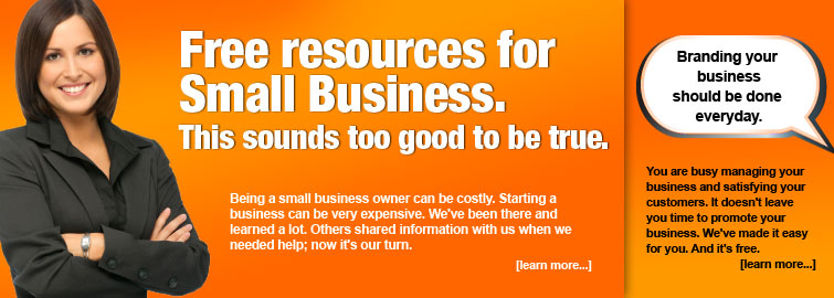 Free resources for small business.