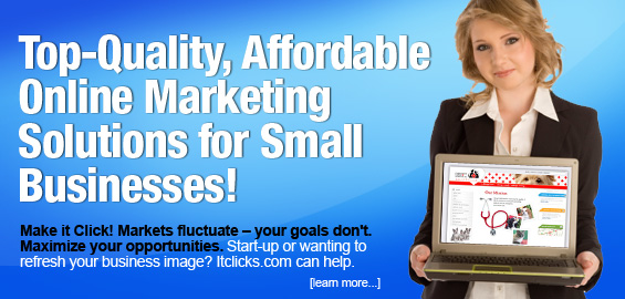 Top-quality, affordable online marketing solutions for small businesses!